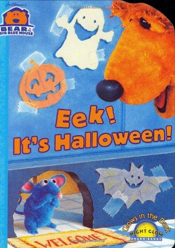 9780689850110: Eek! It's Halloween! (Bear in the Big Blue House (Board Books Simon & Shuster))