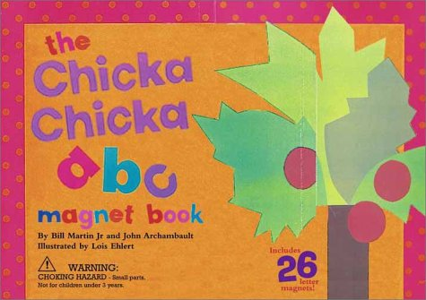 9780689850264: Chicka Chicka ABC Magnet Book