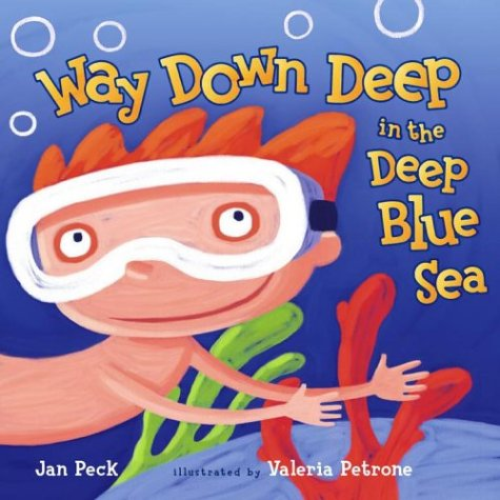 9780689851100: Way Down Deep in the Deep Blue Sea