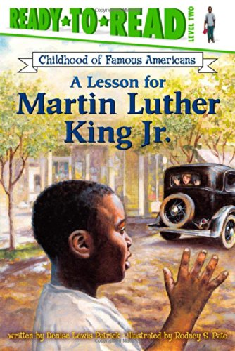 9780689853975: A Lesson for Martin Luther King Jr. (Ready-to-read COFA)