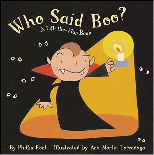 9780689854088: Who Said Boo?: A Lift-the-Flap Book