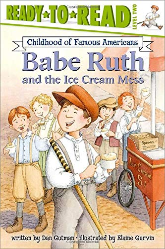 9780689855290: Babe Ruth and the Ice Cream Mess (Ready-to-read COFA)