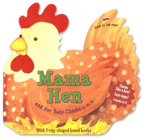 9780689856600: Mama Hen and Her Baby Chicks 1, 2, 3
