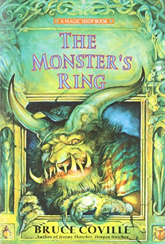 9780689856921: The Monster's Ring (Magic Shop Books)