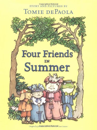 9780689856938: Four Friends in Summer