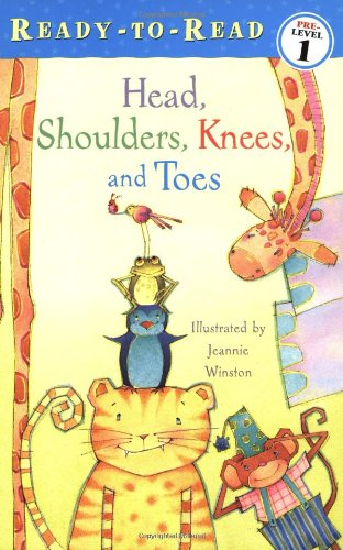 9780689858130: Head, Shoulders, Knees, and Toes (Ready-To-Read:)