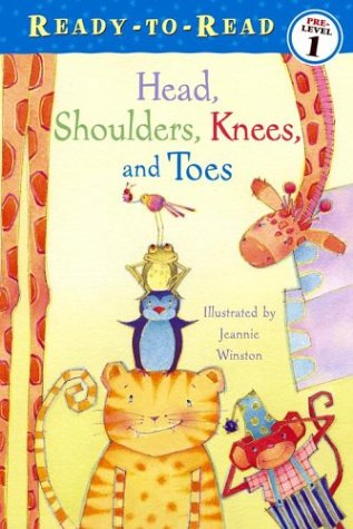 9780689858147: Head, Shoulders, Knees, and Toes (Ready-To-Read:)