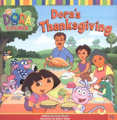 9780689858420: Dora's Thanksgiving (Dora the Explorer 8x8 (Quality))