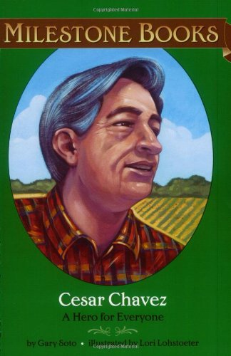 9780689859229: Cesar Chavez: A Hero for Everyone (Milestone)