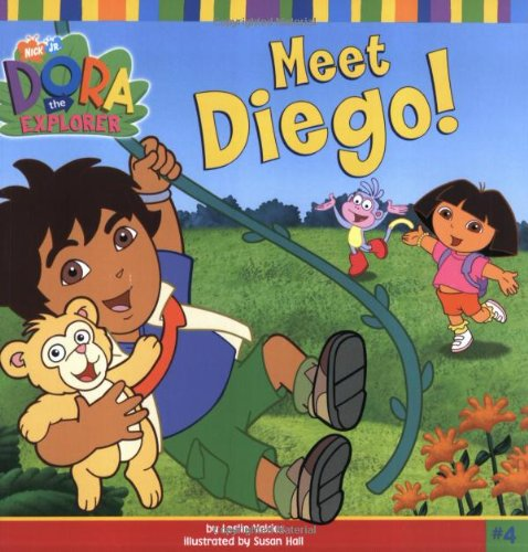 9780689859939: Meet Diego! (DORA THE EXPLORER)