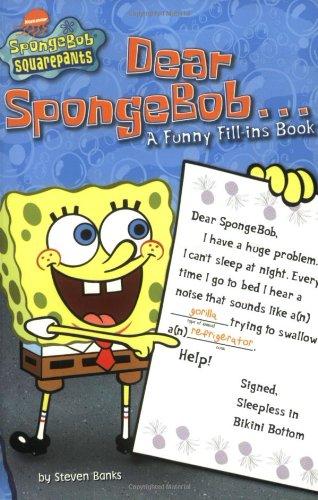 9780689859977: Dear SpongeBob . . .: A Funny Fill-ins Book (SpongeBob SquarePants)