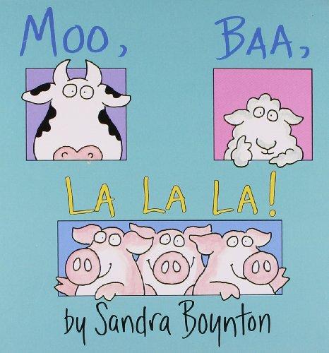 9780689861130: Moo, Baa, La La La (Boynton)