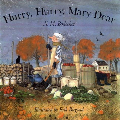 9780689861222: Hurry, Hurry, Mary Dear