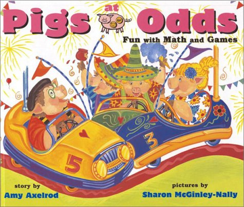 9780689861444: Pigs at Odds : Fun with Math and Games