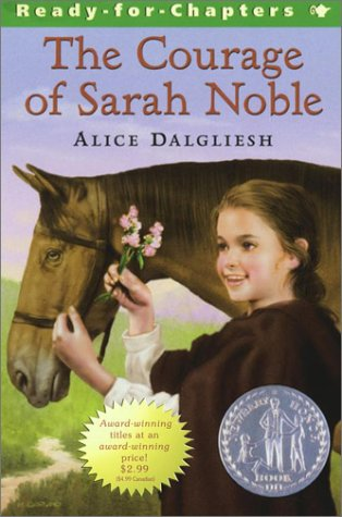 9780689862267: The Courage of Sarah Noble/Newbery Summer