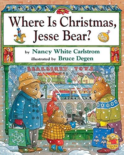 9780689862335: Where Is Christmas, Jesse Bear?