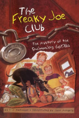 9780689862601: The Mystery of the Swimming Gorilla: Secret File #1 (The Freaky Joe Club)
