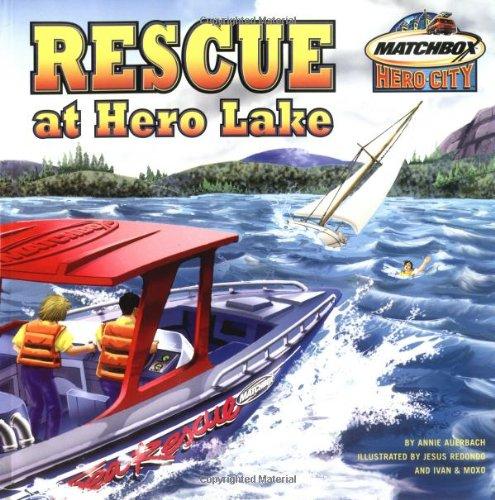 9780689863677: Rescue at Hero Lake (Matchbox)