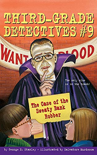 9780689864896: The Case of the Sweaty Bank Robber: Third-Grade Detectives #9