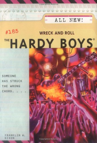 9780689867361: Wreck and Roll (The Hardy Boys #185)