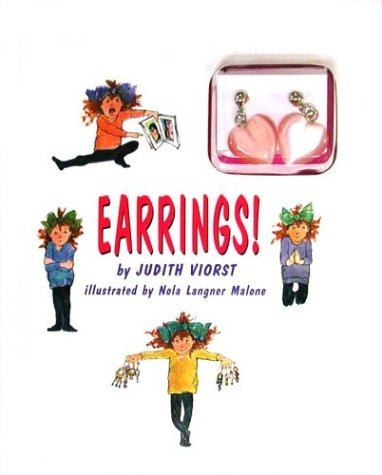 Earrings!: (book and earring package): Judith Viorst; Illustrator-Nola