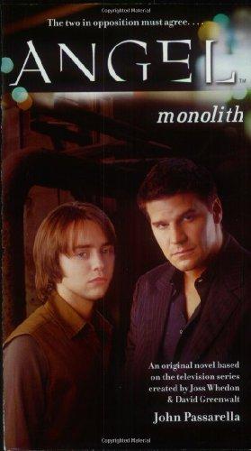 9780689870224: Monolith (Angel the series)