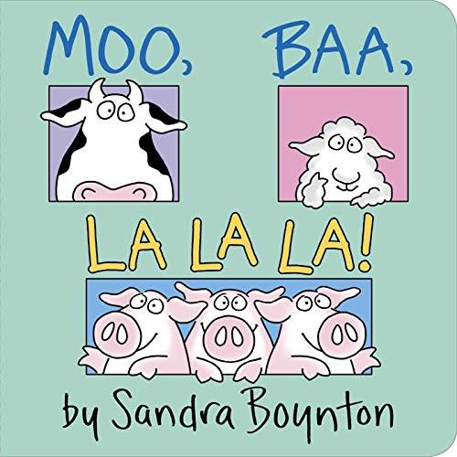 9780689870279: Moo, Baa, La La La!: Lap Edition