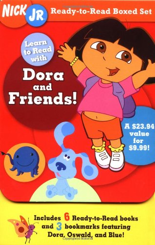 9780689870514: Nick Jr. Ready-to-Read Boxed Set: Learn to Read with Dora and Friends! (Nick JR. Carry-Along Boxed Set)