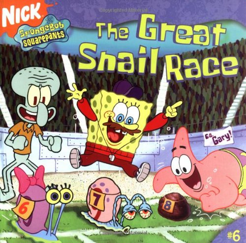 9780689873133: The Great Snail Race (Spongebob Squarepants (8x8))