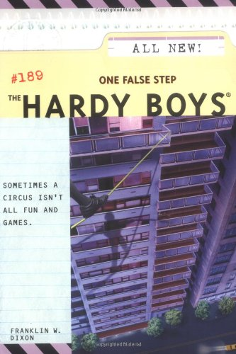 9780689873645: One False Step (The Hardy Boys #189)