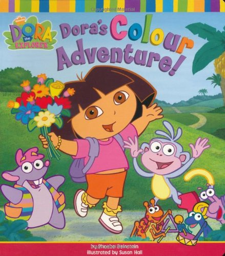 9780689874864: Dora's Colour Adventure! (Dora the Explorer)