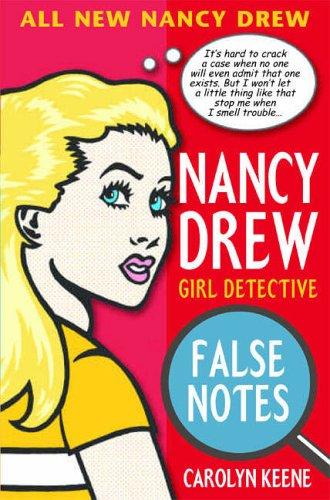 9780689875298: Nancy Drew: False Notes
