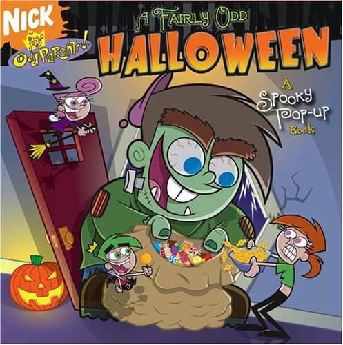 A Fairly Odd Halloween: A Spooky Pop-up Book (Fairly Oddparents): Banks, Steven, Vosough, Gene