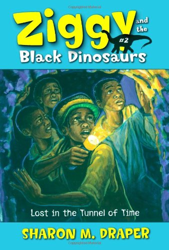 9780689879128: Lost in the Tunnel of Time (Ziggy and the Black Dinosaurs)