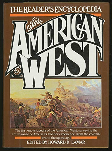 9780690000085: The Reader's encyclopedia of the American West