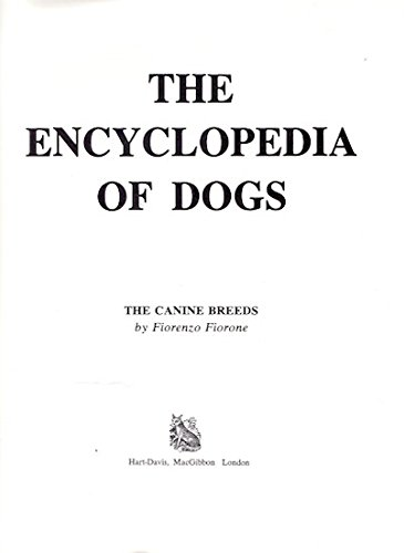 The Encyclopedia of Dogs (English and Italian: Fiorone, Fiorenzo