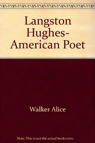 9780690002195: Langston Hughes- American Poet