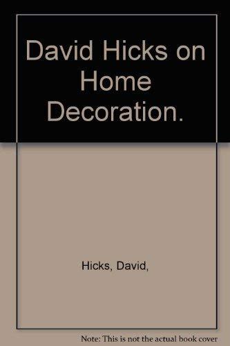 David Hicks on Home Decoration.: David Hicks
