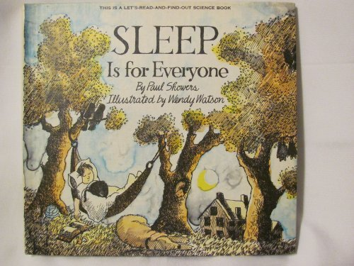 9780690004243: Sleep is for everyone (Let's Read-And-Find-Out Science)
