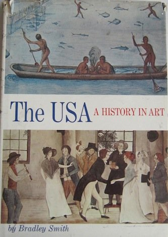9780690009668: The USA--a history in art (A Gemini Smith Inc. book)