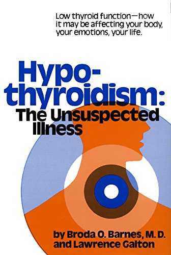 9780690010299: Hypothyroidism: The Unsuspected Illness