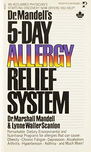 9780690014716: Dr. Mandell's 5-Day allergy relief system