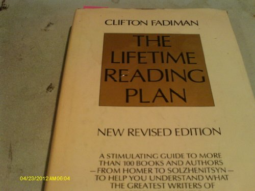 9780690014990: The lifetime reading plan