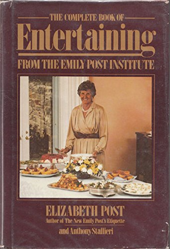 9780690019704: Complete Book of Entertaining