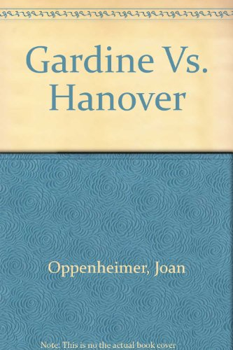 9780690041910: Title: Gardine Vs Hanover