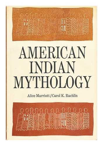 9780690072013: American Indian Mythology