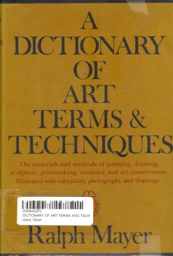 9780690236736: Dictionary of Art Terms and Techniques