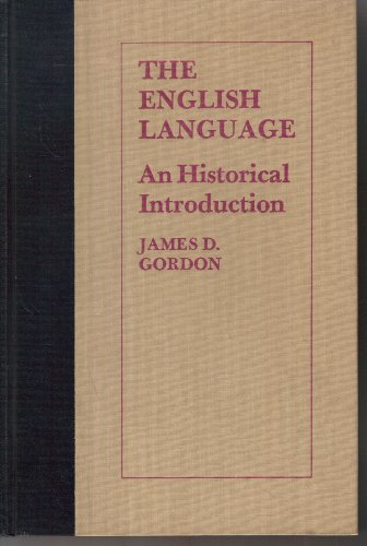 9780690264067: The English language;: An historical introduction