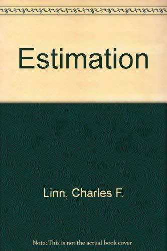 9780690270273: Estimation