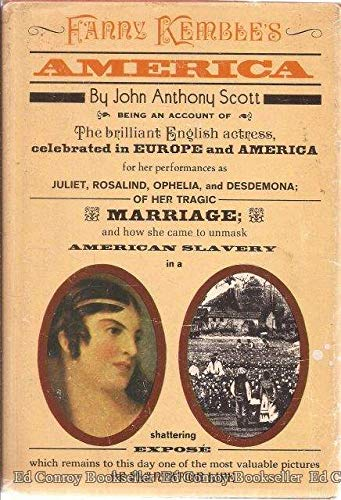 9780690289114: Fanny Kemble's America (Women of America)